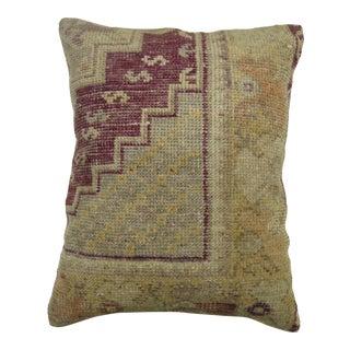 Lavender Oushak Rug Pillow
