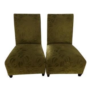 Donghia Villa Slipper Chairs - A Pair