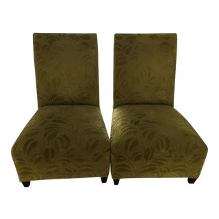 Donghia Villa Slipper Chairs - A Pair