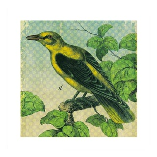 Antique 'Yellow Bird' Archival Print