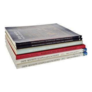 Vintage Dutch History Coffee Table Books - Set of 6