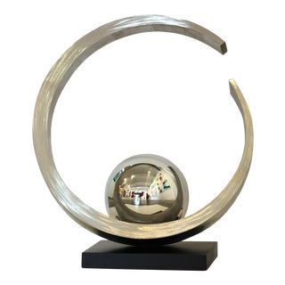 """""""Quest for Enlightenment"""" Stainless Steel Sculpture"""
