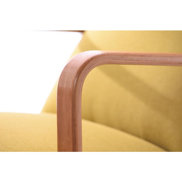 Thonet Mid-Century Modern Bentwood Lounge Chair - Image 4 of 5