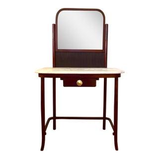 Thonet Bentwood & Marble Vanity