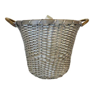 Woven Metal Ice Bucket