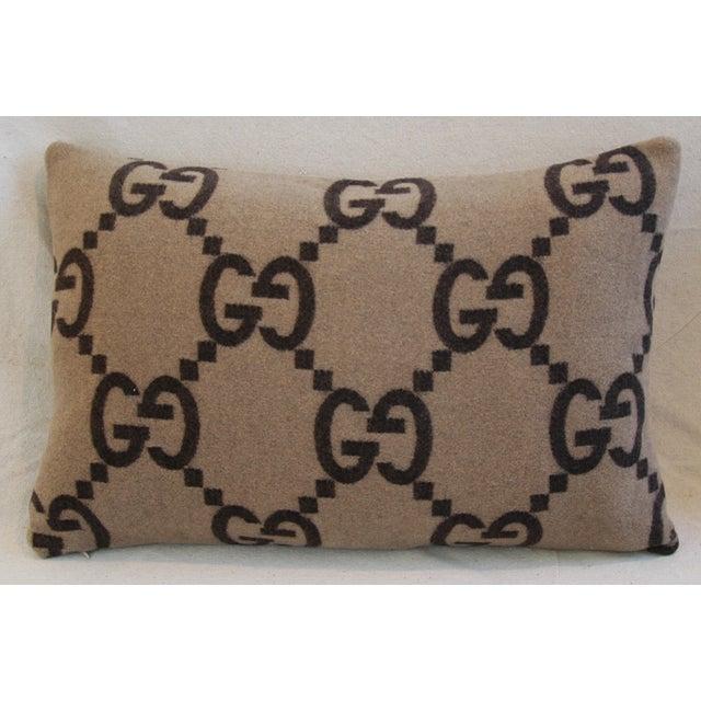 Gucci Cashmere & Velvet Pillows - Pair - Image 11 of 11