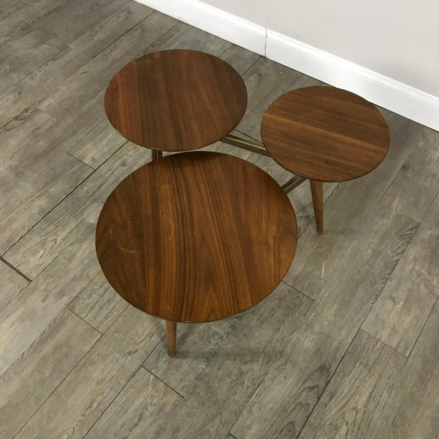 West Elm Mid-Century Modern Tri Surface Coffee Table