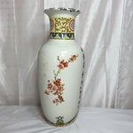Image of Vintage Chinese Hand-Painted Vase