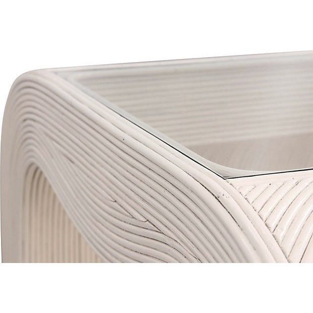 Gabriella Crespi Attributed Bamboo Tables - A Pair - Image 5 of 8