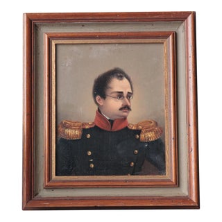 19th C. French Soldier Portrait