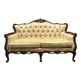 Vintage French Provincial Loveseat