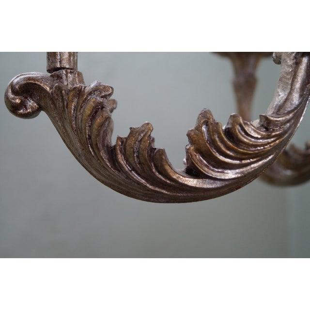 Image of Italian Florentine Carved Gilt Rococo Chandelier
