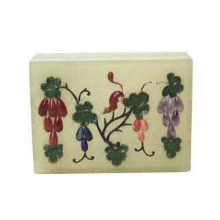 Antique Chinese Jade Serpentine Box
