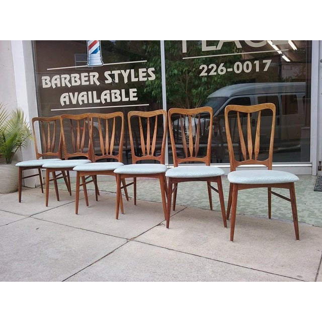 Koefoeds Hornslet Ingrid Dining Chairs - Set of 6 - Image 2 of 7