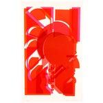 Image of Vintage 1973 'Red Man' Print
