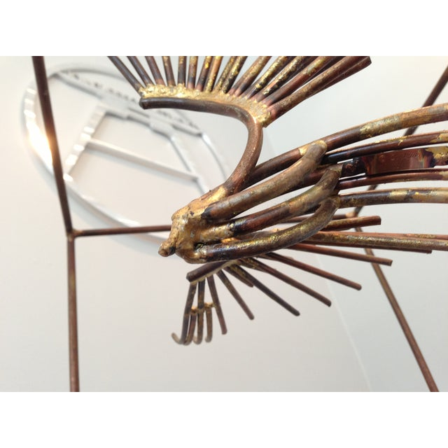 Curtis Jere Caged Eagles in Flight Sculpture - Image 3 of 6