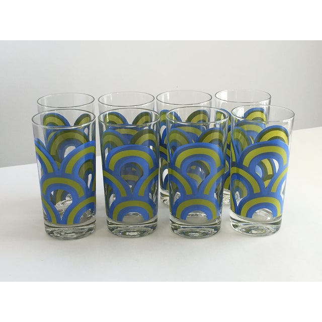 Colony Barware Mid-Century Drinking Glasses - S/8 - Image 2 of 5