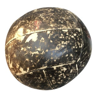 Vintage English Medicine Ball