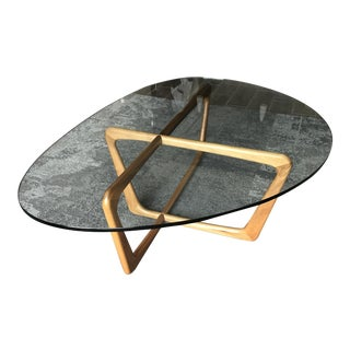 Dunn Cocktail Table With Glass Top