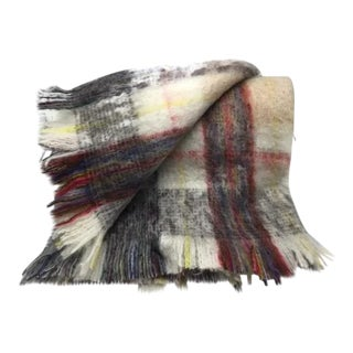 Scottish Hand-Made 100% Mohair Reversible Throw