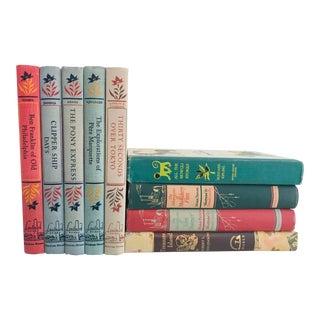 Vintage 1950s Children and Adolescent Books - Set of 9