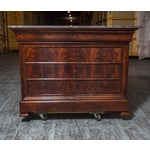 Image of Louis-Philippe Flamed Mahogany Chest