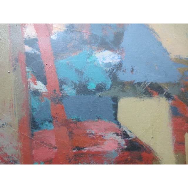 1959 Abstract Painting - Room With Chairs - Image 6 of 11