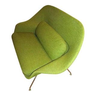1960's Saarinen for Knoll Womb Apple Green Loveseat