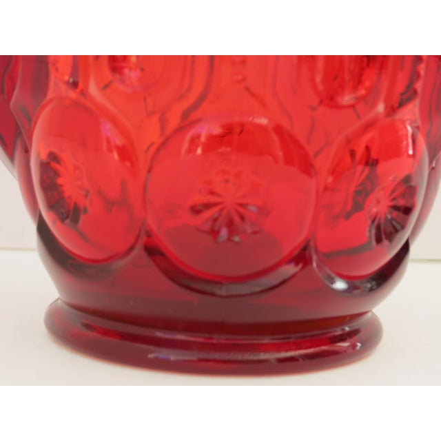 Image of Moon & Stars Ruby Red Pitcher