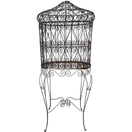 Decorative Iron Bird Cage - Image 1 of 10