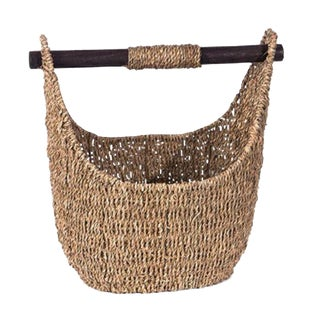 Indonesian Seagrass Basket Tote