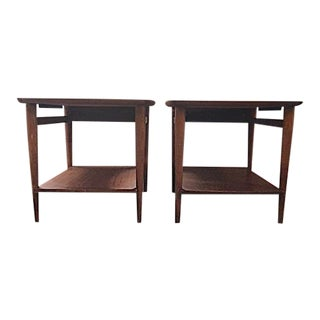 Lane Mid-Century Side Tables - A Pair