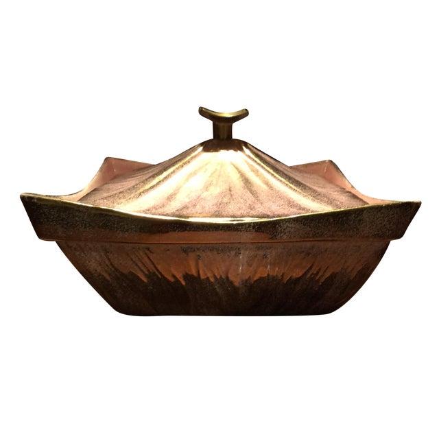 Image of USA California Pottery Figural Pagoda