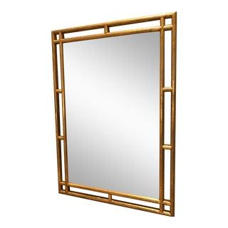 Gold Frame Hollywood Regency Mirror