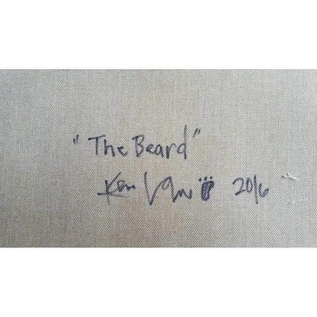 """Image of Law, """"The Beard"""" Painting"""