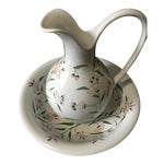 Image of Alcobaca Pitcher & Bowl Set - A Pair