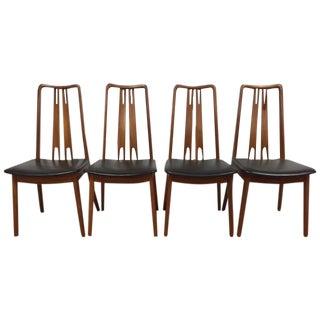Mid-Century Danish Teak Dining Chairs - Set of 4
