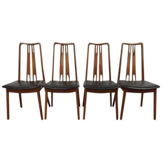 Mid-Century Danish Teak Dining Chairs - Set of 4