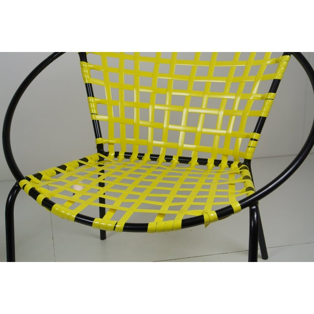 Mid-Century Patio Hoop Chairs - A Pair - Image 4 of 5