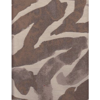 Watercolor Animal Print in Cocoa and Cream - 7 Yards