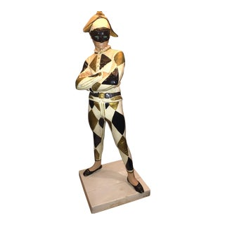 Marbro Harlequin Jester Table Lamp
