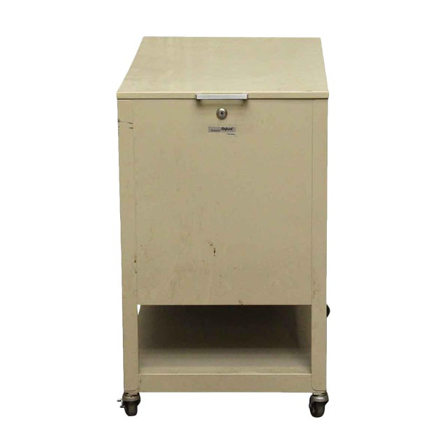 Metal Office Filing Cabinet | Chairish