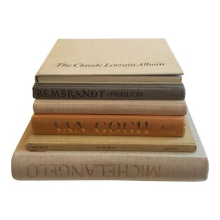 Clothbound Art Books - Set of 6