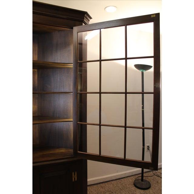 Henkel Harris Genuine Lighted Corner Cabinet - Image 7 of 11