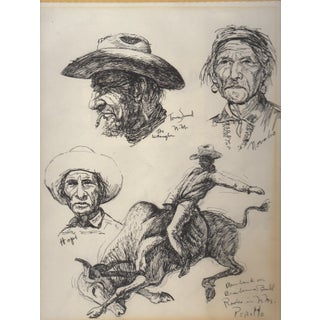 Native American Pen & Ink Sketches by Gregory Perillo