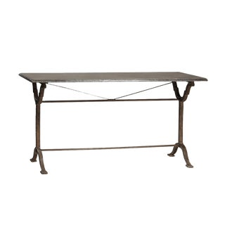 Stone & Cast Iron Table