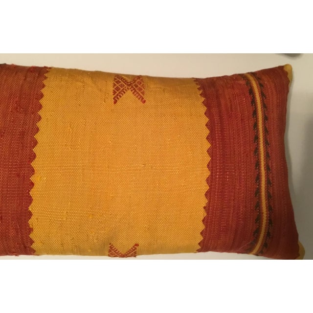 Moroccan Cactus Silk Pillow - A Pair - Image 6 of 11