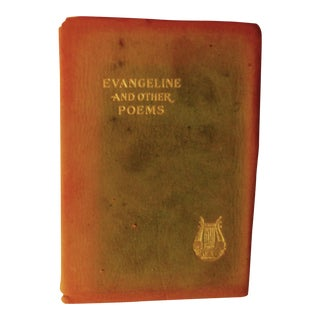 """Evangeline and Other Poems"" Antique Book by Henry Wadsworth Longfellow"
