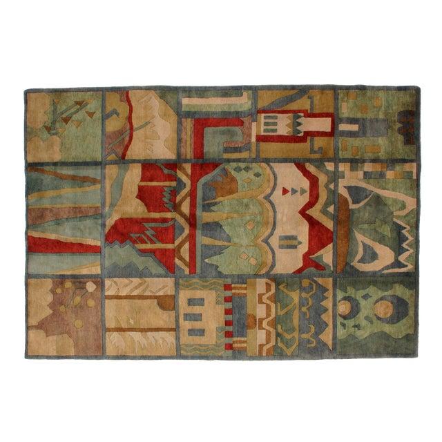 "Leon Banilivi Nepalese rug, 6' x 8'8"" - Image 1 of 5"