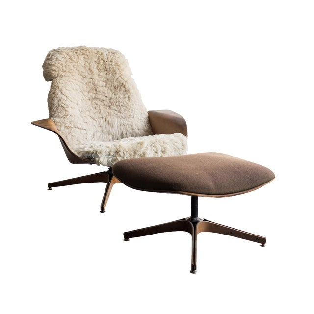 Image of George Mulhauser for Plycraft Mr. Chair & Ottoman